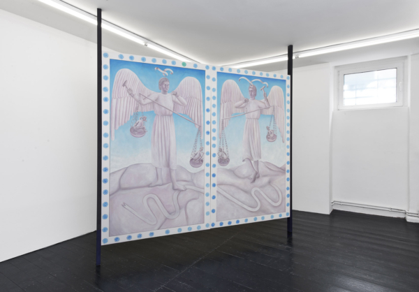 My refuge, my treasure, without body, without measure: Agnes Scherer at Gallery ChertLüdde
