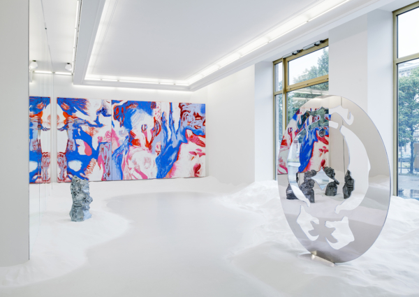 Obsidian Mirror: Donna Huanca at Peres Projects